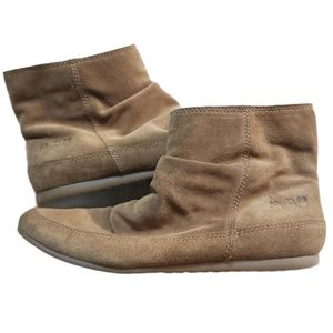 Lucky Brand Suede Lined Ankle Boots - Women's